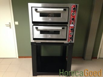 Nieuwe dubbele pizza oven 1