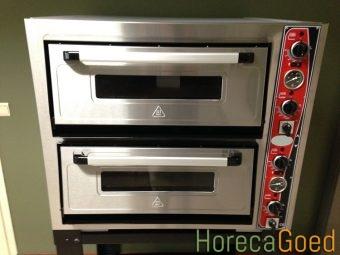Nieuwe dubbele pizza oven 2