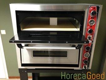 Nieuwe dubbele pizza oven 3