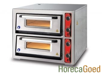 Nieuwe dubbele pizza oven 6 + 6 pizza's 1