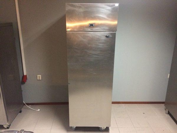 Gebruikte Foster RVS koelkast1