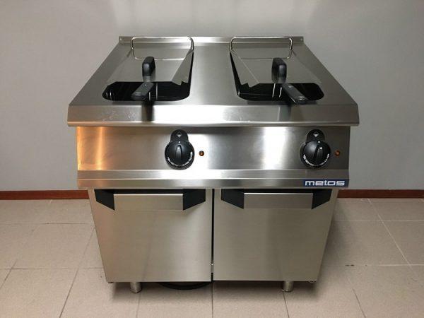 Nieuwe Metos elektrische dubbele friteuse1