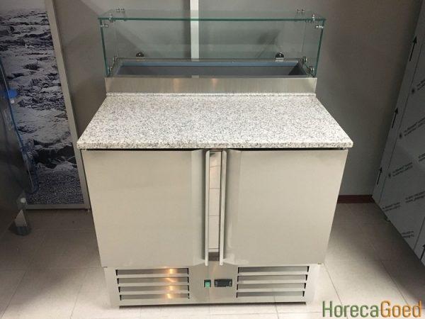 Nieuwe pizza koelwerkbank1