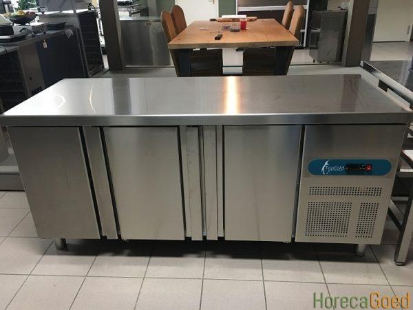 TopCold 3-deurs koelwerkbank1