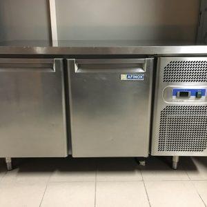 Gebruikte Afinox 2-deurs koelwerkbank1