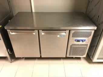 Gebruikte Afinox 2-deurs koelwerkbank2
