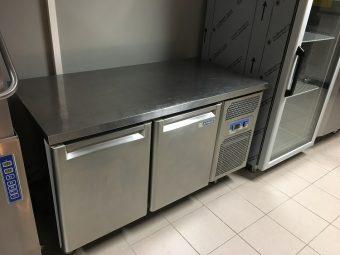 Gebruikte Afinox 2-deurs koelwerkbank3