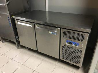 Gebruikte Afinox 2-deurs koelwerkbank4