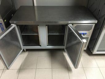 Gebruikte Afinox 2-deurs koelwerkbank5