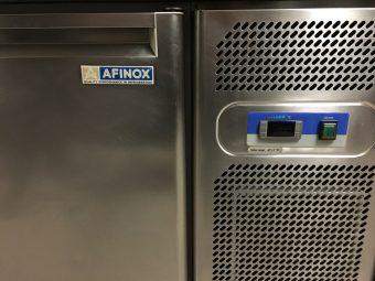 Gebruikte Afinox 2-deurs koelwerkbank6