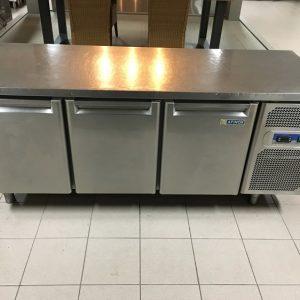 Gebruikte Afinox 3-deurs koelwerkbank1
