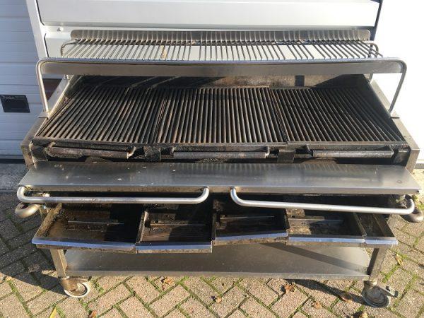 Gebruikte mobiele gas grill1
