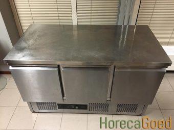 Gebruikte CombiSteel koelwerkbank 3-deurs2
