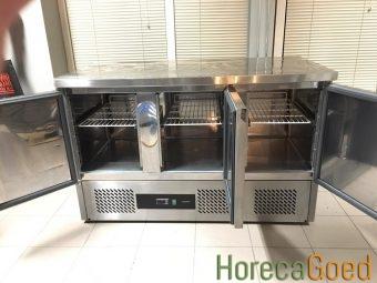 Gebruikte CombiSteel koelwerkbank 3-deurs3
