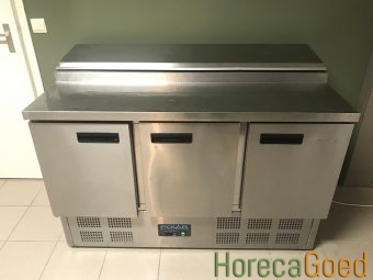 Gebruikte Polar G605 saladette koelwerkbank 1
