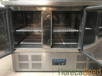 Gebruikte Polar G605 saladette koelwerkbank 5