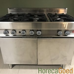 Gebruikte Modular horeca gasfornuis met oven 1