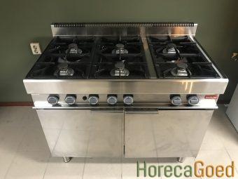Gebruikte Modular horeca gasfornuis met oven 2