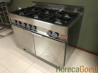 Gebruikte Modular horeca gasfornuis met oven 4