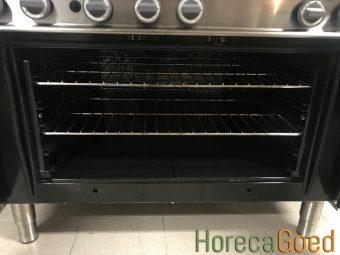 Gebruikte Modular horeca gasfornuis met oven 6