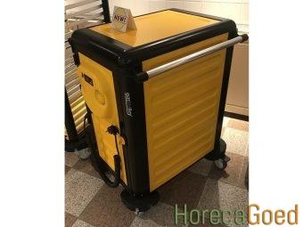 Nieuwe voedsel warmhoudwagen transportwagen 2