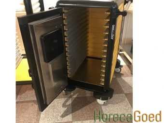 Nieuwe voedsel warmhoudwagen transportwagen 3