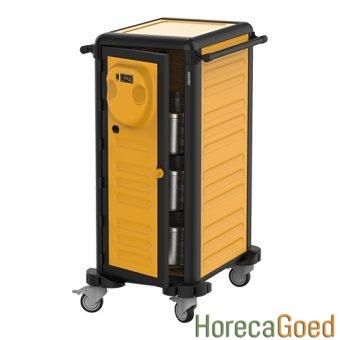 Nieuwe voedsel warmhoudwagen transportwagen 7