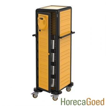 Nieuwe voedsel warmhoudwagen transportwagen 8