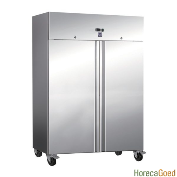 Nieuwe RVS horeca koelkast 1200 liter 1