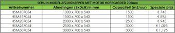 HorecaGoed schuin model afzuigkap met motor 2