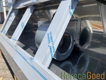 HorecaGoed schuin model afzuigkap met motor 8