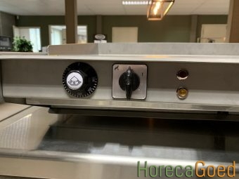 Nieuwe HorecaGoed high speed waterblad grill plaat bakplaat 10