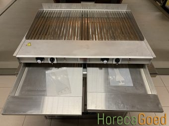 Nieuwe HorecaGoed high speed waterblad grill plaat bakplaat 8