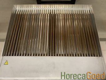 Nieuwe HorecaGoed high speed waterblad grill plaat bakplaat 9
