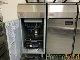Nieuwe Gasfriteuse gas frituur 21 liter 5
