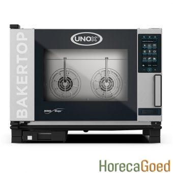 Unox BakerTop MindMaps Plus XEBC-04EU-EPRM combisteamer bake-off oven