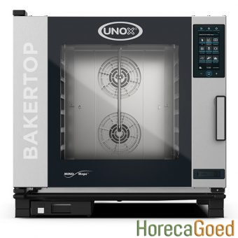 Unox BakerTop MindMaps Plus XEBC-06EU-EPRM combisteamer bake-off oven