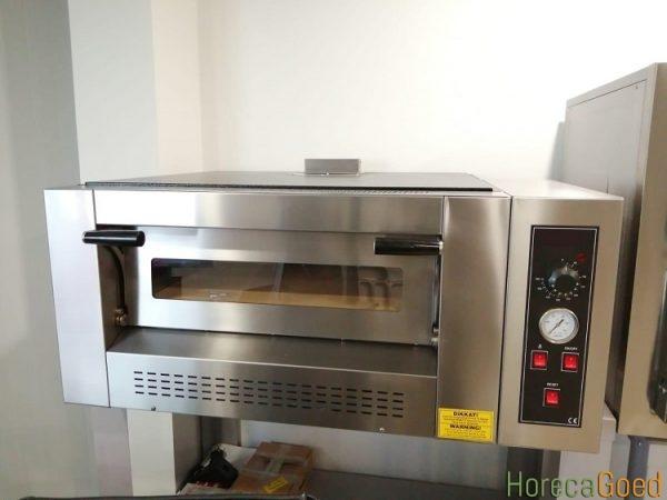 Nieuwe gas pizza oven 1