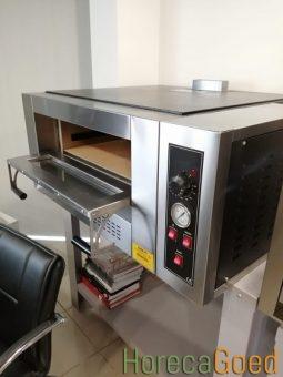 Nieuwe gas pizza oven 2
