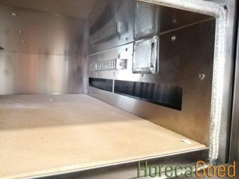 Nieuwe gas pizza oven 3