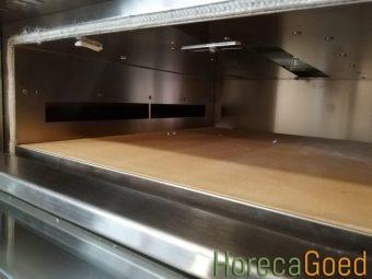 Nieuwe gas pizza oven 5