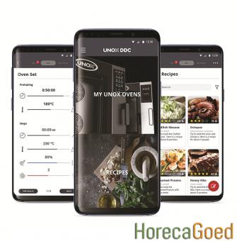 UNOX ChefTop MindMaps Plus combisteamer app