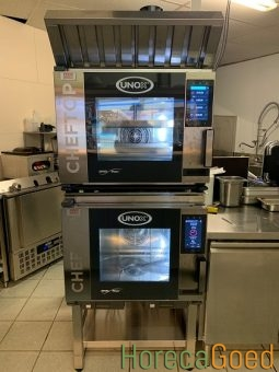 Unox ChefTop MindMaps Plus XEVC-0511-EPRM combisteamer oven 5